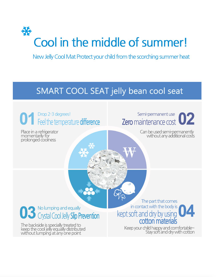 Stroller Cool jelly Seat-4